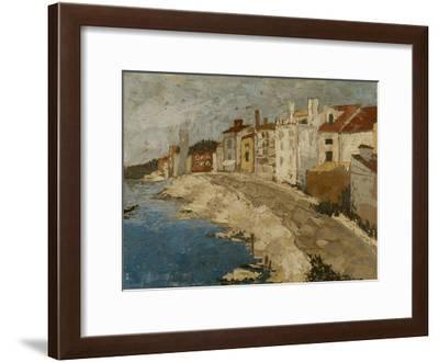 By the Sea II-Megan Meagher-Framed Premium Giclee Print