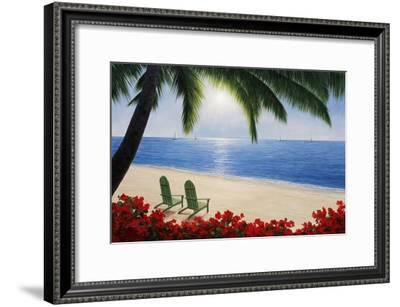 By The Sea-Diane Romanello-Framed Art Print