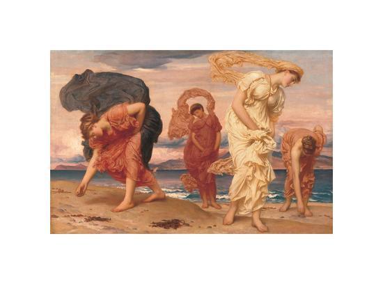By the Sea-Frederick Leighton-Giclee Print