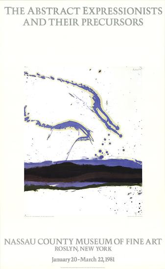 By the Sea-Robert Motherwell-Collectable Print