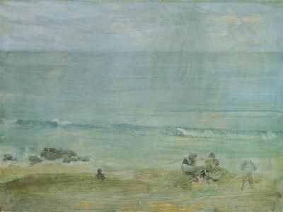 By the Shore, St. Ives-James Abbott McNeill Whistler-Giclee Print