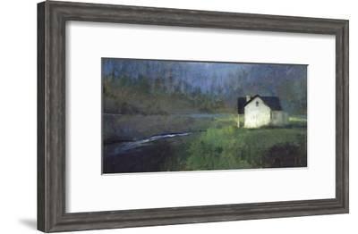 By the Stream-Seth Winegar-Framed Art Print