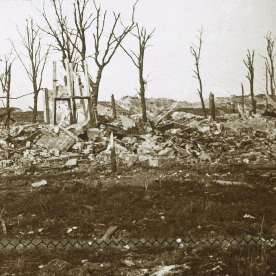 By the Tavannes Fort, Verdun, northern France, c1914-c1918-Unknown-Photographic Print