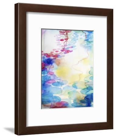 By the Water-Helen Wells-Framed Art Print