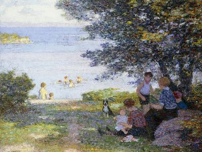 By the Water-Edward Henry Potthast-Giclee Print
