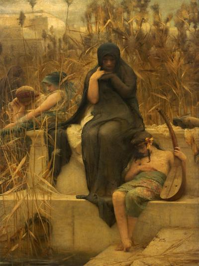 By the Waters of Babylon-Arthur Hacker-Giclee Print