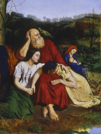 By the Waters of Babylon-Philip Hermogenes Calderon-Giclee Print