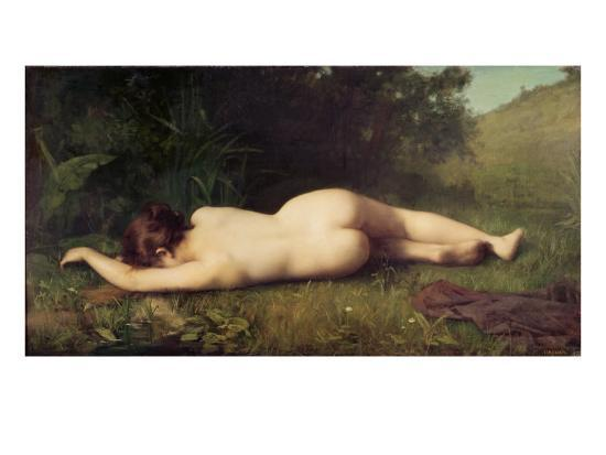 Byblis Turning Into a Spring-Jean-Jacques Henner-Giclee Print