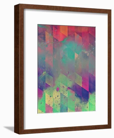 bybyvy-Spires-Framed Art Print