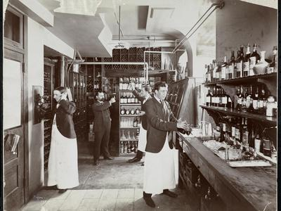 A Pantry at the Hotel Manhattan, 1902
