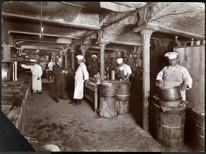 Cooks Working in the Kitchen at Maillard's Chocolate Manufacturers, 116-118 West 25th Street, New… by Byron Company