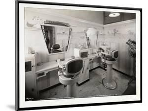 Interior View of the Children's Haircutting Room at Charles of the Ritz Beauty Salon at B. Altman… by Byron Company