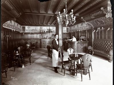 The Dutch Room at the Hotel Manhattan, 1902