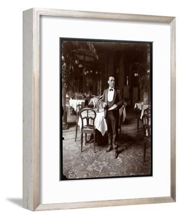 The Head Waiter at Sherry's Restaurant, New York, 1902