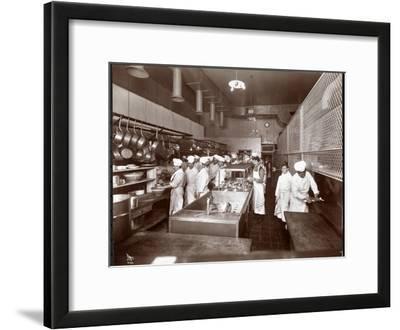 The Kitchen at the Philadelphia Ritz-Carlton Hotel, 1913