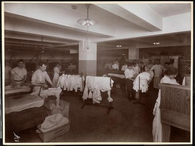 The Laundry Room at the Hotel Mcalpin, 1913