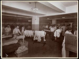 The Laundry Room at the Hotel Mcalpin, 1913 by Byron Company