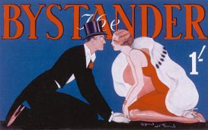 Bystander Masthead by Leon Heron, 1930
