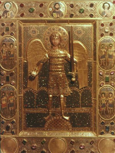 Byzantine Art: St. Michael--Photographic Print