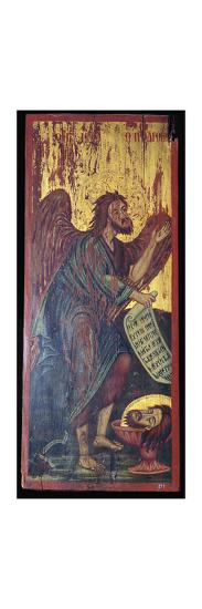 Byzantine ikon of Saint John the Baptis, 1st century BC-Unknown-Giclee Print