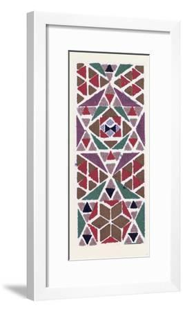Byzantine Ornament--Framed Giclee Print