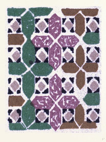 Byzantine Ornament--Giclee Print