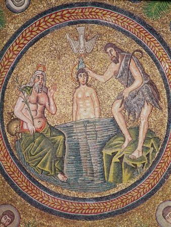 Baptism of Christ by John the Baptist