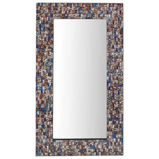 Byzantion Mosaic Mirror - Tall--Home Accessories