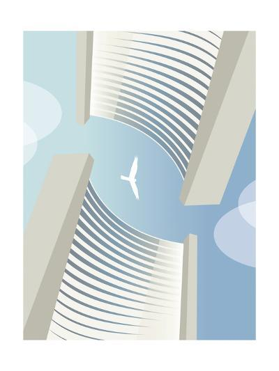 C 5 Vienna Bird-Sergio Baradat-Giclee Print