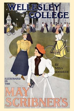 Wellesley College Illustrated in the May Scribner's