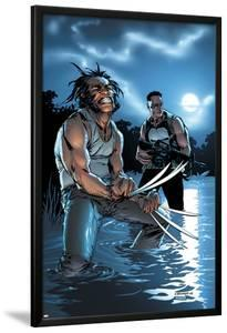 Wolverine Punisher No.3 Cover: Wolverine and Punisher by C Brunner