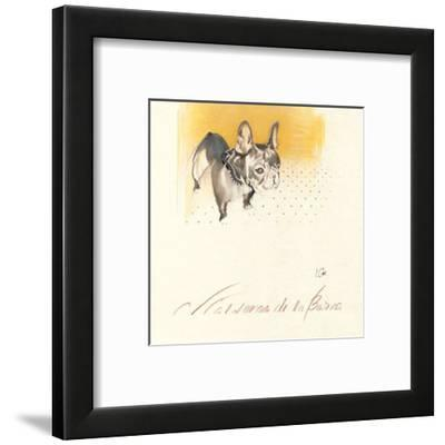 C. Calderon de la Barca-Ines Champagne-Framed Art Print