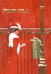 Christmas Greetings by C. Coles Phillips