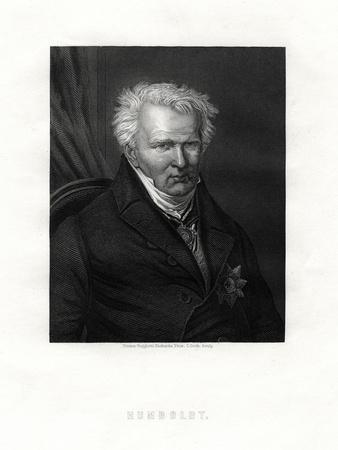 Alexander Von Humboldt, (1769-185), German Naturalist and Explorer, 19th Century