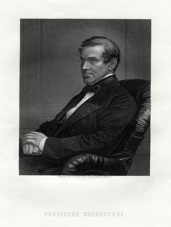 Charles Wheatstone (1802-187), British Physicist, 19th Century