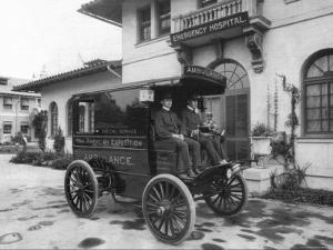 Pan-American Exposition Ambulance by C.d. Arnold