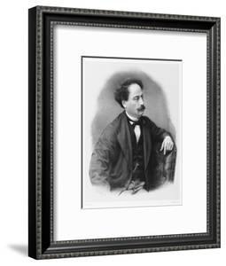 Alexandre Dumas Fils French Novelist by C. Fuhr