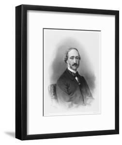 Alexandre-Edmond Becquerel French Physicist in 1865 by C. Fuhr