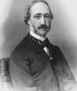 Alexandre-Edmond Becquerel French Physicist in 1865 by C. Fuhr
