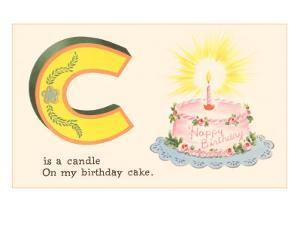 C is a Candle