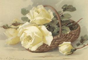 Corbeilles de Roses III by C. Klein