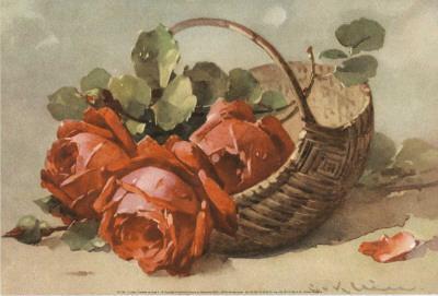 Corbeilles de Roses IV