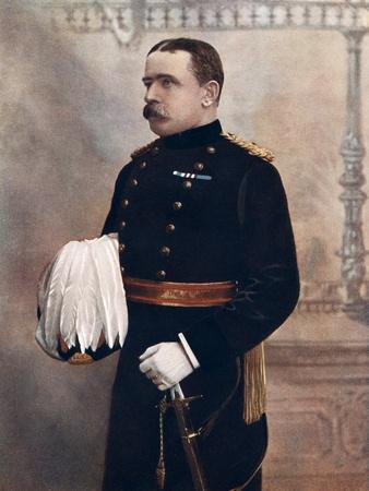 Lieutenant-General Jdp French, Commanding Cavalry Division, South Africa Field Force, 1902