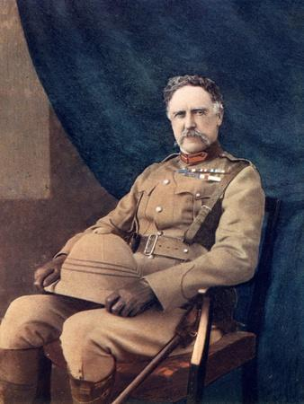 Lieutenant-General Ng Lyttelton, Commanding 4th Brigade in South Africa, 1902