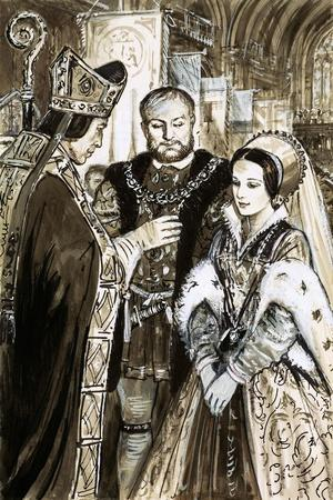 Marriage of Henry VIII and Anne Boleyn