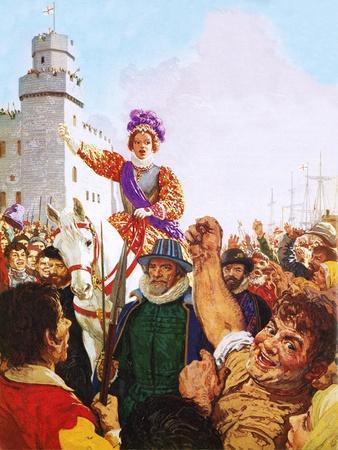 Queen Elizabeth I Making Her Armada Speech