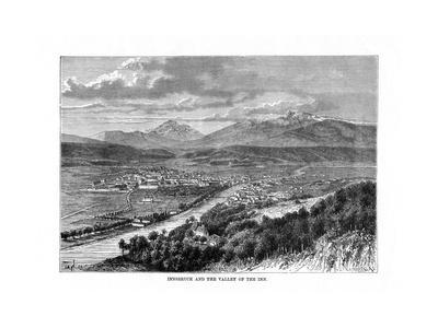 Innsbruck and the Valley of the River Inn, Austria, 1879