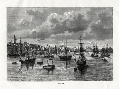 Nantes, France, 1879