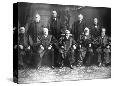 Portrait of the 1888 Supreme Court