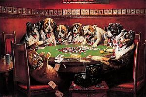 Poker Sympathy by C^ M^ Coolidge